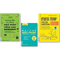 Combo Hướng Dẫn Sử Dụng Ngữ Pháp Tiếng Anh + Bài tập ngữ pháp tiếng Anh căn bản + Mind Map English Grammar – Ngữ pháp tiếng anh bằng sơ đồ tư duy
