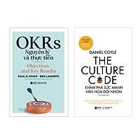 Combo OKRs Nguyên Lý Và Thực Tiễn + The Culture Code: Khám Phá Sức Mạnh Văn Hóa Đội Nhóm