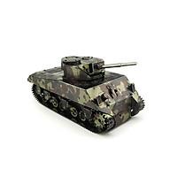 Mô hình thép 3D tự ráp mẫu xe tank Sherman