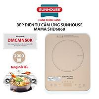 Bếp Điện Từ Cảm Ứng Sunhouse MaMa SHD6868 - Hàng chính hãng