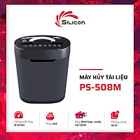 Máy Hủy Tài Liệu Silicon PS-508M