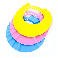 Mũ gội đầu tắm cho bé chỉnh cỡ (xanh)- mũ đội đầu chống thấm, mũ tắm cho bé-- Blue 206111 3