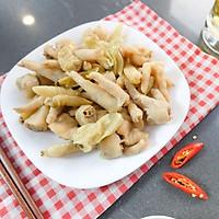 Đồ Ăn Vặt Việt Nam Chân Gà Cay Nhẹ Muối Ớt ( Gói 125 gram )