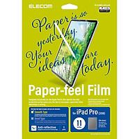 Miếng dán màn hình cho Ipad Pro 11 inches Elecom Paper- Feel TB-A18MFLAPLL-W - Hàng chính hãng