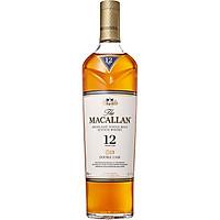 Rượu Whisky The Macallan Double Cask 12 Years Old 700ml 40% có hộp kèm theo