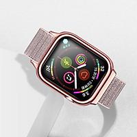 Dây đeo Apple Watch 4 USAMS US-ZB073 Nylon Loop Strap 40mm - Hàng chính hãng