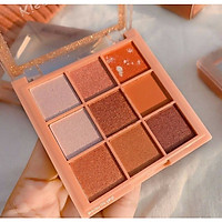 Bảng phấn mắt 9 Màu Kiss Beauty Luxury Pro Eyeshadow 87170