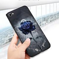 Ốp điện thoại dành cho máy Oppo A83/A1 - Hoa hồng bóng tối MS ABMHA001