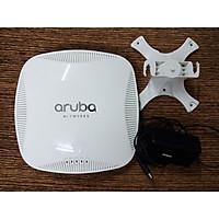 Bộ phát Wifi chuyên dụng Aruba AP-225 RW kèm chân đế treo trần và nguồn 12V mới 99% - Hàng chính hãng - Phát wifi trên 2 băng tần là 2,4Ghz và 5Ghz