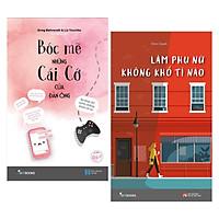Combo Tiểu Thuyết Lãng Mạn Cho Bạn Gái Trong Mối Quan Hệ Với Nửa Kia: Bóc Mẽ Những Cái Cớ Của Đàn Ông + Làm Phụ Nữ Không Khổ Tí Nào ( Tặng Kèm Bookmark Love Life)