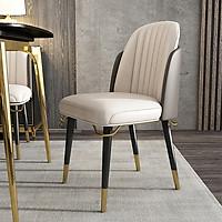 L.U.....X.>>>Ghế ăn phong cách Ý - ghế ăn cao cấp(kt 85x56x52cm)