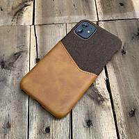 Ốp lưng da vải kiêm ví cao cấp dành cho iPhone 11