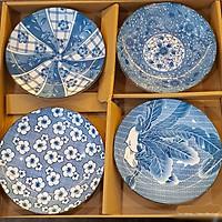 Set 4 đĩa pattern Nhật Bản MS 9.3.2