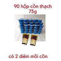 Thùng 90 ly cồn ly thạch 75g dùng cho bếp cồn loại 1