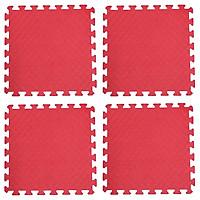 Bộ 4 tấm Thảm xốp lót sàn an toàn Thoại Tân Thành - màu đỏ (50x50cm)