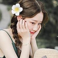Kẹp tóc hoa sứ - 3 bông