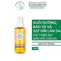 Dầu tẩy trang Evoluderm tinh chất Hạnh Nhân giúp làm sạch sâu kể cả Waterproof 150ml