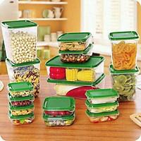 Bộ hộp nhựa đựng thức ăn 17 món cao cấp