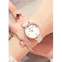 Đồng hồ nữ mặt nhỏ xinh xắn thời trang nhiều màu HLoios - Hàng nhập khẩu