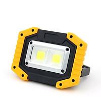 Đèn led sạc điện đa năng 10W ( DÙNG PIN SẠC HOẶC PIN 1.5V AA RẤT TIỆN )