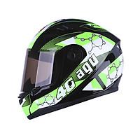 Mũ bảo hiểm fullface AGU Tem M125 - Tặng túi đựng nón thương hiệu