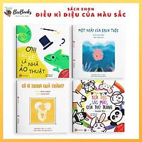 Sách Ehon Nhật Bản- Bộ Sách Điều Kì Diệu Của Màu Sắc dành cho bé từ 0-6 tuổi- Ehon tăng cường khả năng ghi nhớ và nhận biết màu sắc cho bé