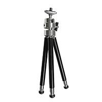 Mini Flexible Projector Tripod Stand Bracket Mini Projector Aluminum Alloy Holder Stand Projetor Tripod Black