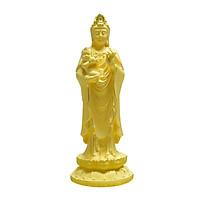 Quan Âm Trường Lạc phủ vàng 24K quà tặng mỹ nghệ KBP DOJI DJDEG88-15