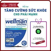 Thực phẩm bảo vệ sức khỏe WELLMAN Tablets – Hỗ trợ Tăng cường sức khỏe cho phái mạnh - HÀNG CHÍNH HÃNG - CÓ TEM CHÍNH HÃNG - Hộp 30 viên - KÈM QUÀ TẶNG