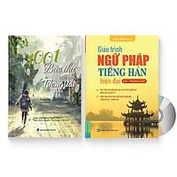 Combo 2 sách: 1001 Bức thư viết cho tương lai + Giáo trình ngữ pháp tiếng Hán hiện đại – Sơ Trung Cấp + DVD quà tặng