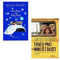 Combo 2 cuốn sách bán chạy: Nguyễn Nhật Ánh-Làm Bạn Với Bầu Trời (Bìa Mềm) (Tặng Kèm Khung Ảnh Số Lượng Có Hạn) + Triệu Phú Khu Ổ Chuột ( Tái bản 2018 )