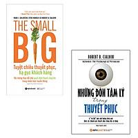 Bộ 2 cuốn sách về nghệ thuật thuyết phục: Những Đòn Tâm Lý Trong Thuyết Phục - The Small Big Tuyệt Chiêu Thuyết Phục Hạ Gục Khách Hàng