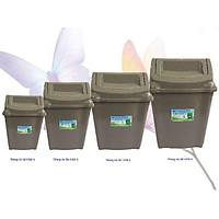 thùng đựng rác lật nắp các cỡ