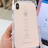 Miếng Dán PPF Nhám Chống Vân Tay Mặt Trước Và Sau ĐT Cho IPHONE và SAMSUNG