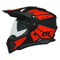 Mũ Bảo Hiểm Dual Sport Yohe 632A Adventure (Đen Đỏ)