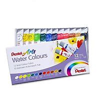 Hộp màu nước Pentel WFRS-12
