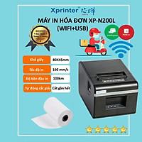 Máy In Hóa Đơn WIFI Xprinter XP- N200L Dùng Cho Điện Thoại ( Hàng chính hãng)