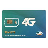 Sim 4G Viettel 7GB / Tháng (12 Tháng) - Hàng chính hãng