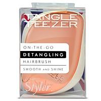 Lược Tangle Teezer Compact Styler Detangling Hairbrush - Vàng Trắng (Bill Anh)