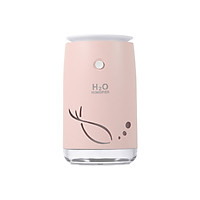 Small Humidifiers,310ml Desk Humidifiers,Whisper-Quiet Operation,Night Light Function,Two Spray Modes,Auto Shut-Off for
