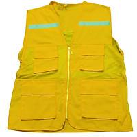 Áo ghile phản quang màu vàng