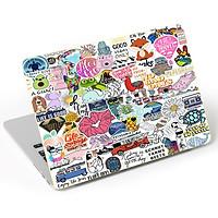 Mẫu Dán Trang Trí Mặt Ngoài + Lót Tay Laptop Hoa Văn LTHV - 351