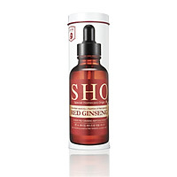SHO Ampoule Mask Chống lão hóa hồng sâm - Hộp 7 miếng Mặt nạ SHO Red Ginseng Aging Ampoule Mask (27ml/miếng)