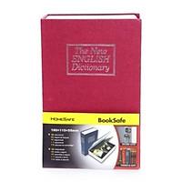 Két sắt mini giả quyển sách khóa số ( dùng mật khẩu) - Giao màu ngẫu nhiên
