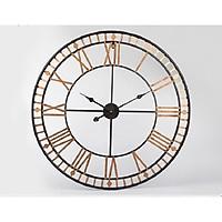 WALL CLOCK Đồng hồ tròn vàng 6164G