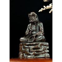 Tượng gỗ mỹ nghệ- Đạt Ma tọa thiền- gỗ trắc
