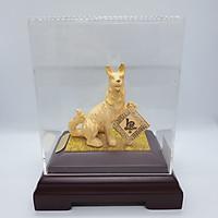 Kim Giáp Tuất phủ vàng 24K quà tặng mỹ nghệ KBP DOJI DJ0518WRSX001-12.11