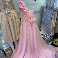 Đầm dạ hội lệch vai mặc cưới TRIPBLE T DRESS-size M/L(kèm ảnh/video thật)MS199V