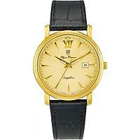 Đồng hồ nam dây da Olym Pianus OP130-07MK-GL vàng
