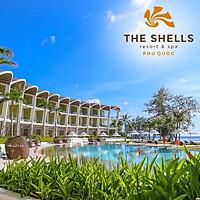 Gói 3N2Đ The Shells Resort & Spa 5* Phú Quốc - Buffet Sáng, Hồ Bơi, Bãi Biển Riêng, Đón Tiễn Sân Bay, Dành Cho 02 Người Lớn, Giải Thưởng Khách Sạn Thiết Kế Kiến Trúc Đẹp